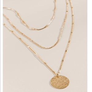 BRIELLE LAYERED COIN NECKLACE
